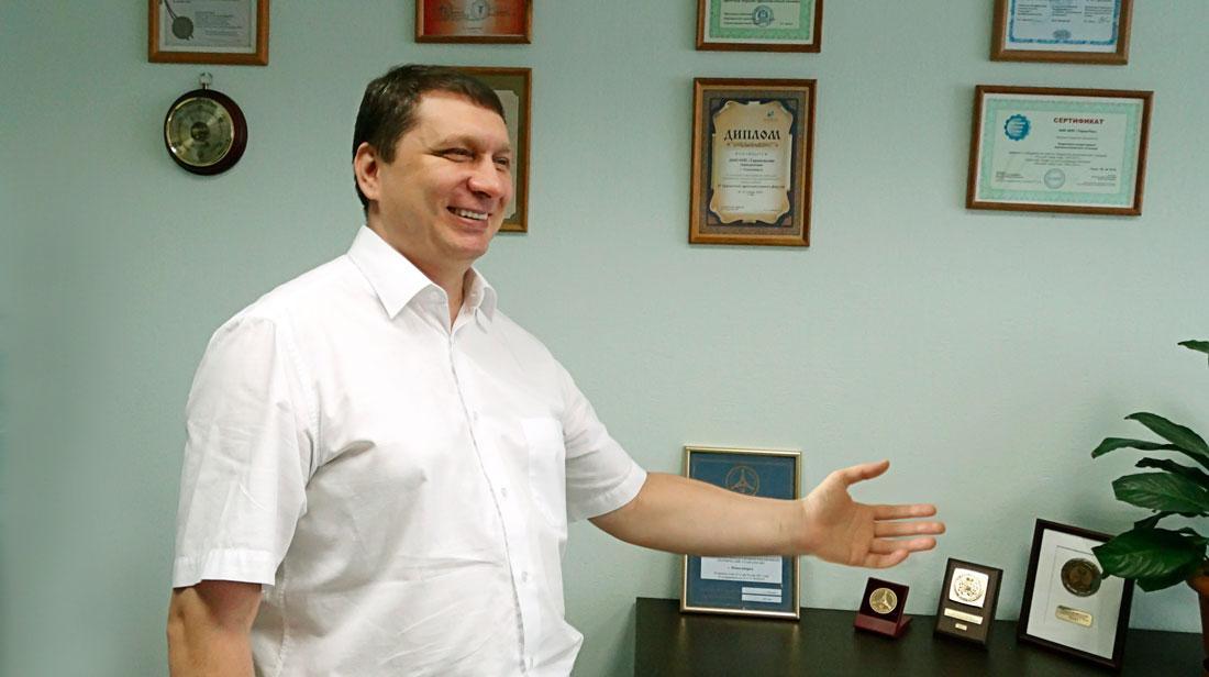 """Директор НПП """"Термические Технологии"""" Бардокин В.А."""