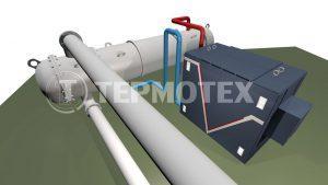 Скоростной подогреватель нефти СПН на основе индукционного нагревателя