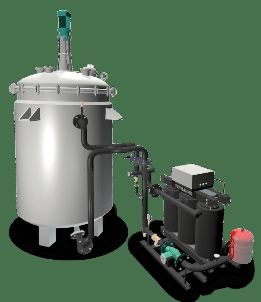 Нагрев реакторов индукционный нагреватель Терманик Техно