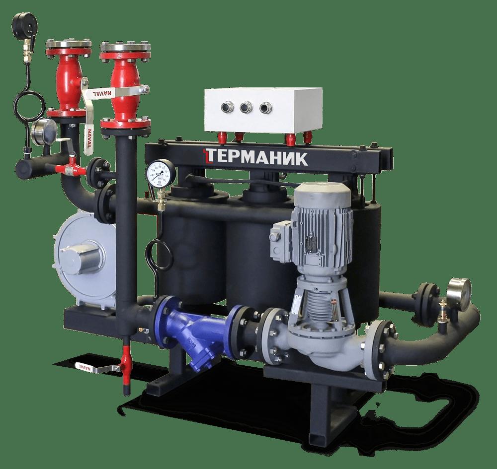 Высокотемпературный термомасляный нагреватель Терманик Техно