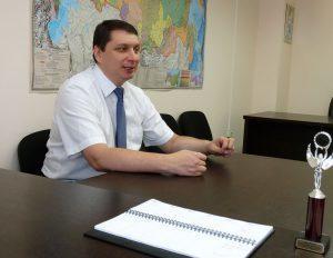 "Директор НПП ""ТермоТех"" Владислав Александрович Бардокин"
