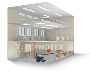 Система автономного отопления здания