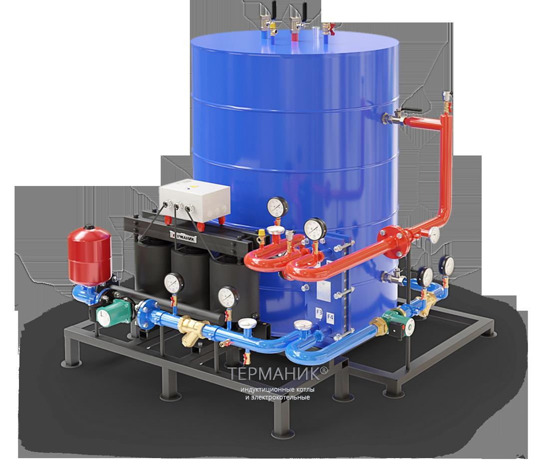 Терманик ГВС-Б Промышленный водонагреватель с дополнительным теплообменником