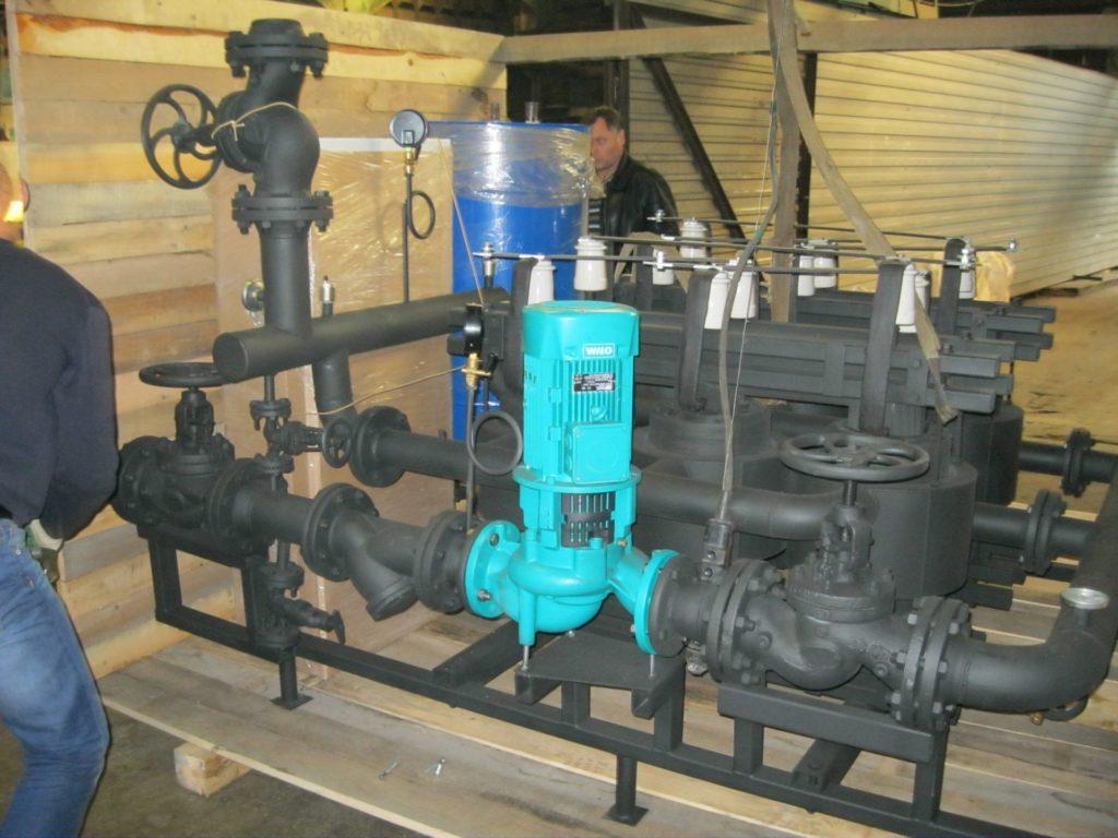 Электрокотлы для производственных помещений и цехов